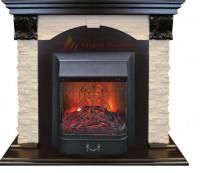 Электрический камин Dublin LUX (DN,AO) STD/Majestic, Real Flame