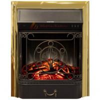 Электрический очаг Majestic Lux Brass, Real Flame